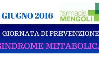 Giornata della prevenzione della Sindrome Metabolica